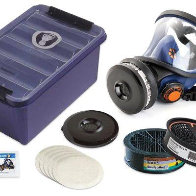 Sundstrom SR200 Full Face Respirator Kit