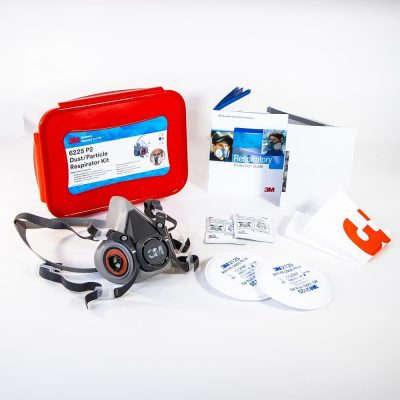 3M 6225 P2 dust particle respirator kit contents