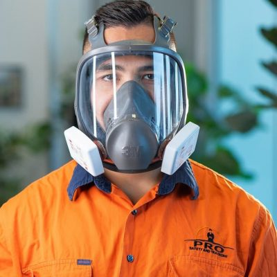 Face fit testing 3M 6000 series full face respirator