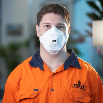 Face fit testing service 3m 9322A disposable respirator