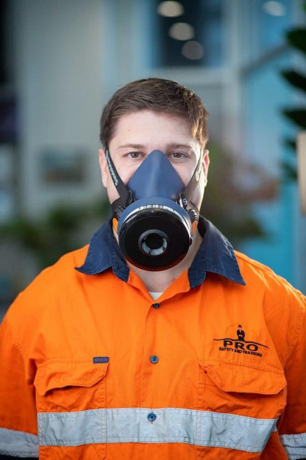 Face fit testing service Sundstrom SR100 respirator